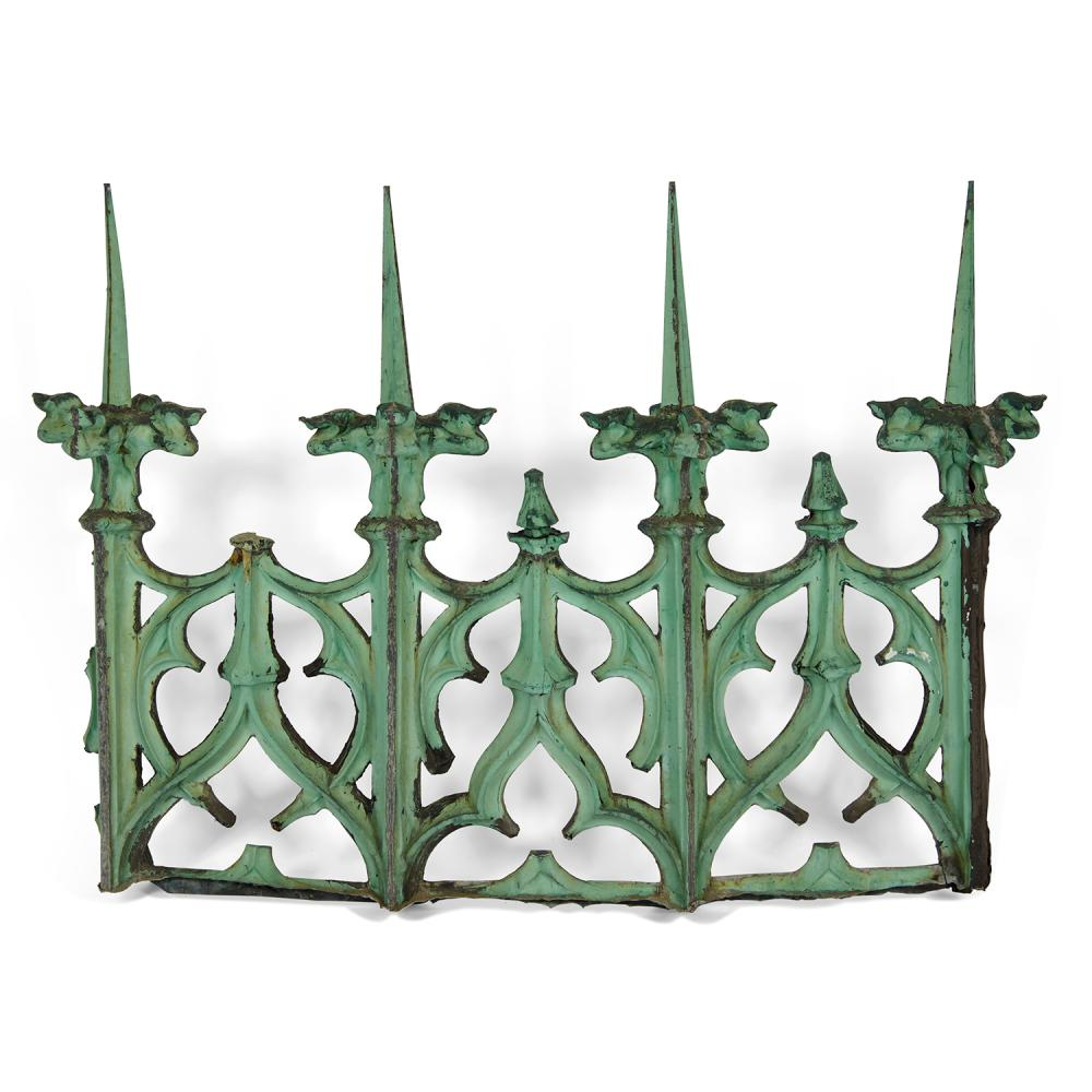 """Cass Gilbert (1859-1934) for the Woolworth Building architectural element 78""""w x 18""""d x 56 1/2""""h"""