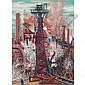 "Rudolph T. Pen (American, 1918-1989) ""Industrial"