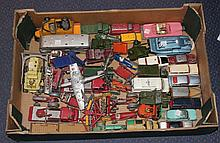 A collection of Dinky Toys and Supertoys cars,