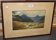 Charles W. Taylor - 'Glen Nevis, Scotland',