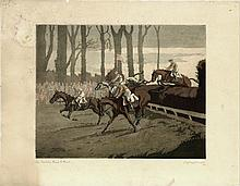 Geoffrey Sparrow - 'The Cowdray Point to Point',