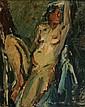 Attributed to Eduard Borregaard - Portrait of a