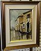 Guido Borelli - 'Venice', 20th Century oil on, Guido Borelli, Click for value
