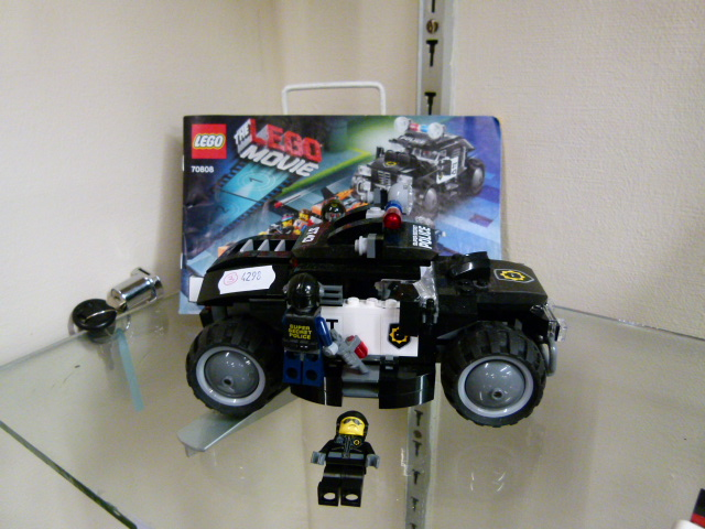 Lego Police 4 X 4 With Instructions Lego Movie 70808 Super Cycle Chase