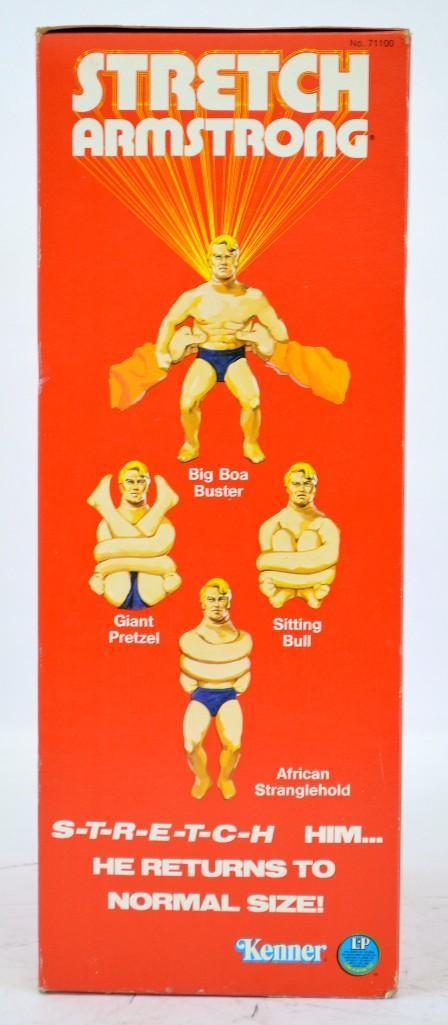 Rare Factory sealed Kenner Stretch Armstrong action figure NOS