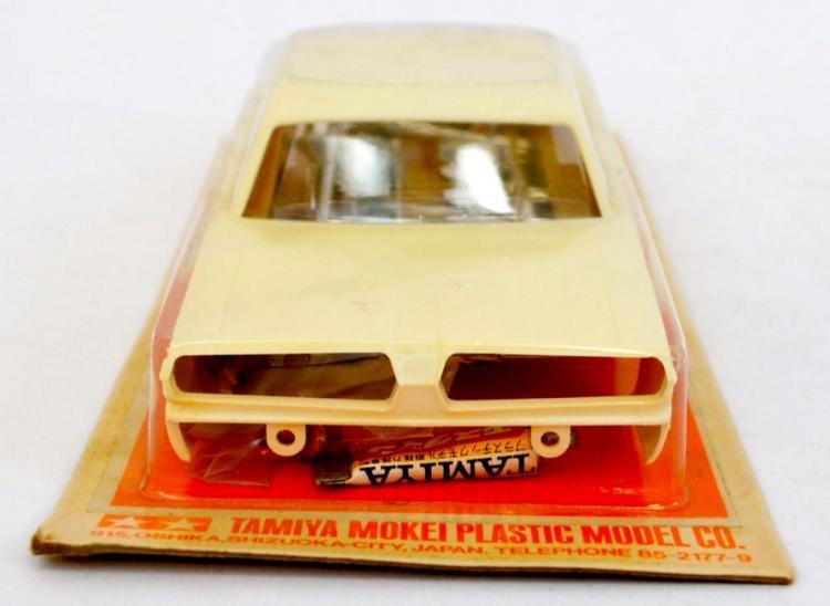 Tamiya Mokei 1/24 Plymouth Fury slot car body on sealed blister card