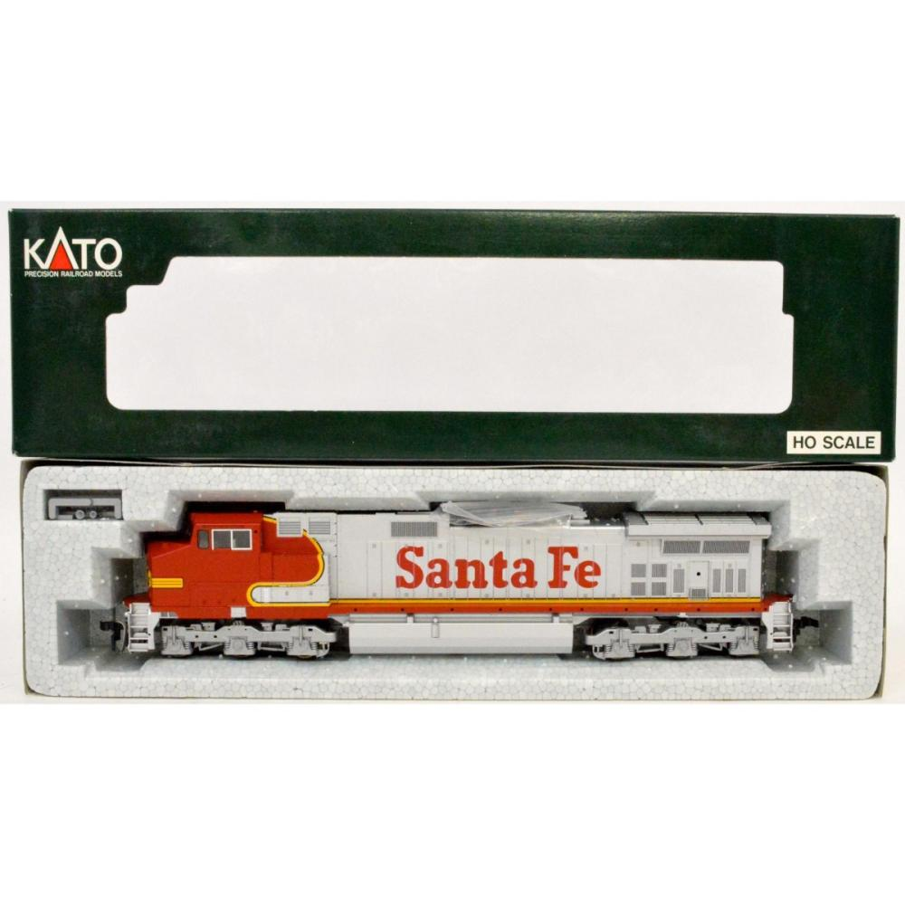 Lot Kato Ho Scale Santa Fe Ge C44 9w Dash 9 Diesel Locomotive Mib