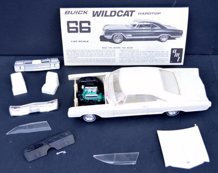 1966 Buick wildcat model kit