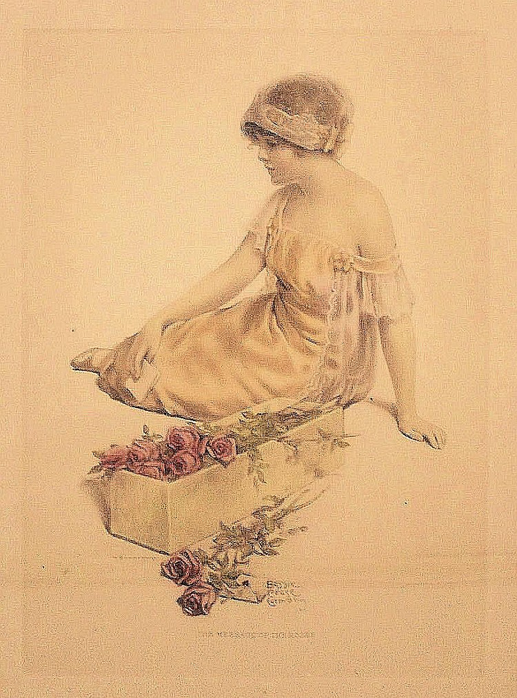 Bessie Pease Gutmann (1876-1960) The Message of