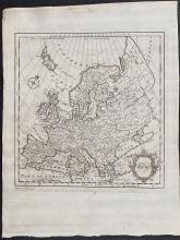 Salmon - Map of Europe