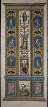 Raphael - Religious Fresco or Decorative Pilaster. 11