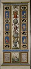 Raphael - Religious Fresco or Decorative Pilaster. 12