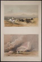 Warre - Buffalo Hunting on the W. Prairies & Forcing A Passage Through the Burning Prairie