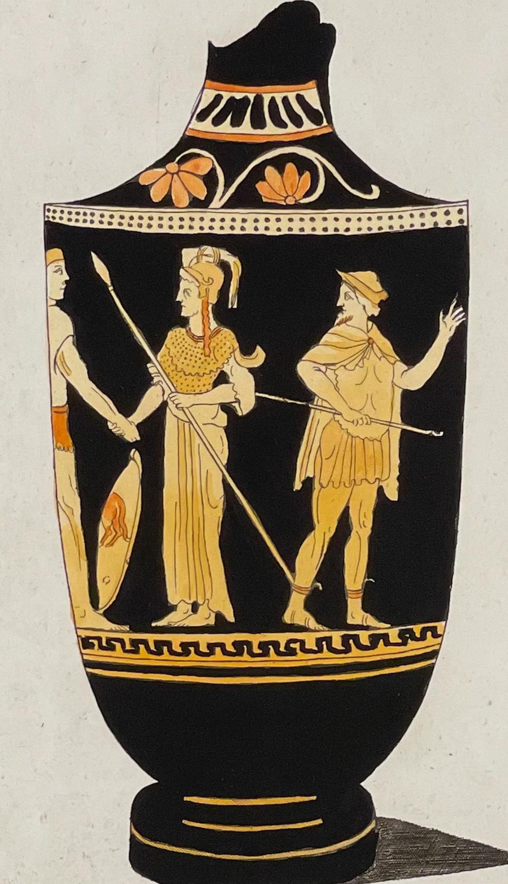Passeri - Grecian Vase. 251