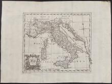 Salmon - Map of Italy