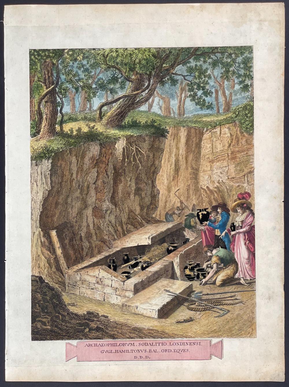 Hamilton - Discovery of Ancient Pottery