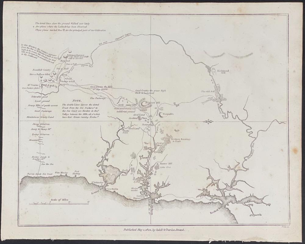 Collins - Map of Part of Australia