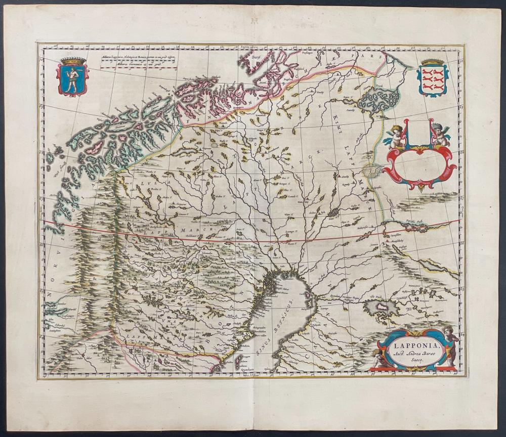 Blaeu - Map of Lapland
