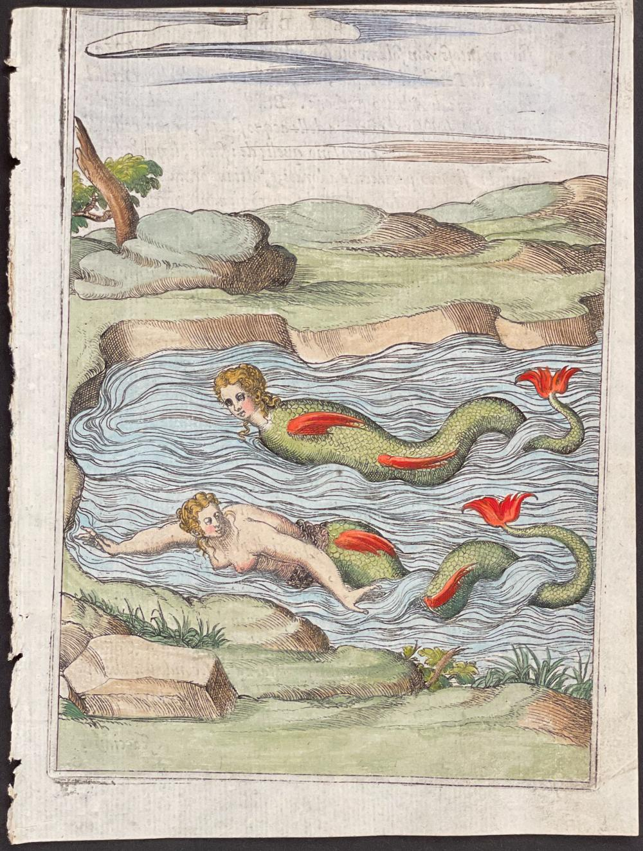 Cartari, pub. 1571 - Mermaid