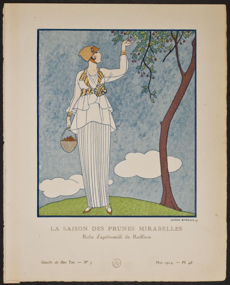Bon Ton - Barbier - La Saison des Prunes Mirabelles. 48