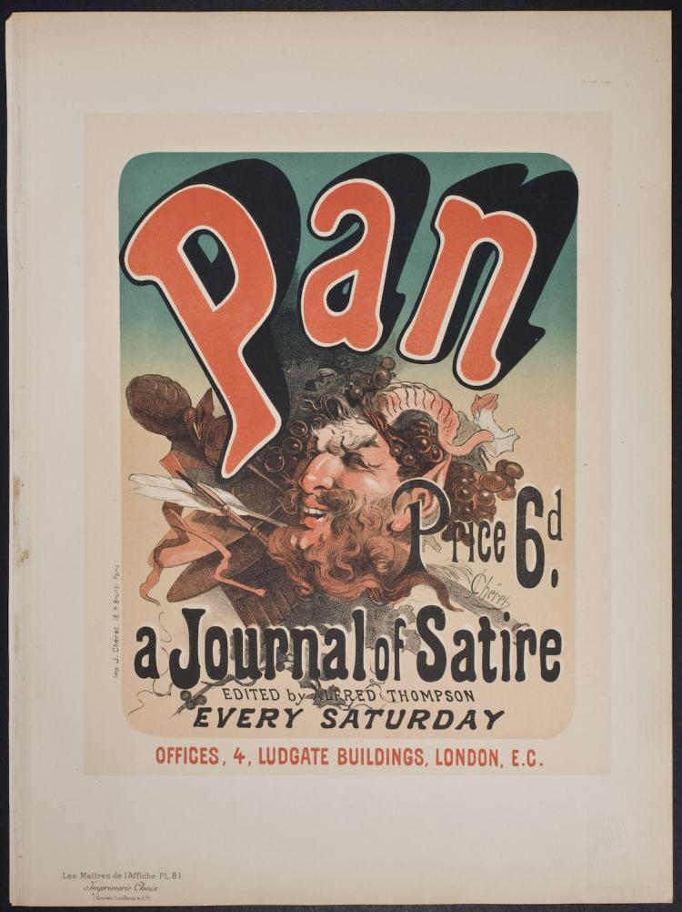 Maitres de Affiche - Pan, a Journal of Satire by Jules Cheret - 81