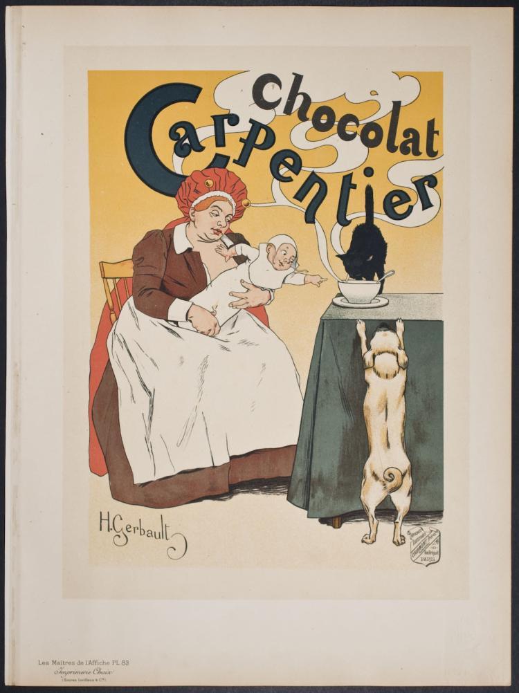 Maitres de Affiche - Chocolat Carpentier by H. Gerbault - 83