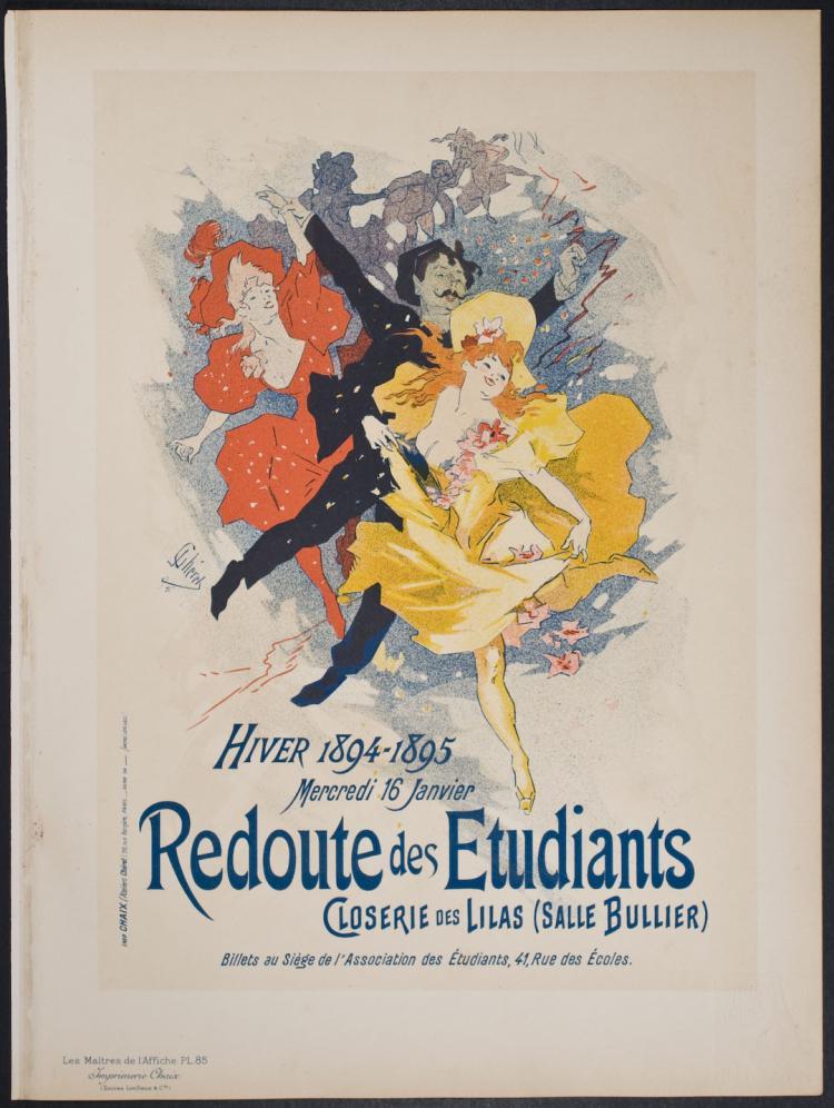 Maitres de Affiche - Redoute des Etudiants by Jules Cheret - 85