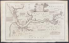 Salmon - Map of the River Gambia