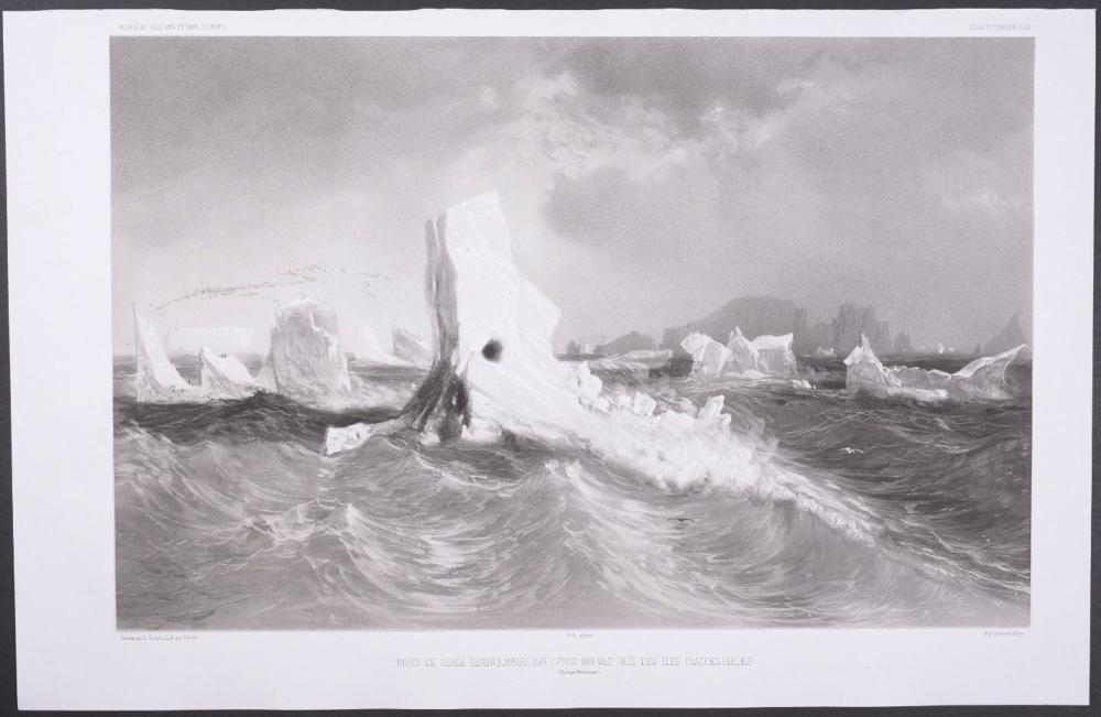 Lot 11086: Dumont - Glaciers, Antarctica. 29