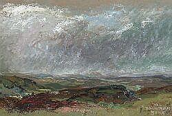 WILLIAM DRUMMOND BONE STORM CLOUDS 60cm x 90cm
