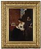 SIR WILLIAM FETTES DOUGLAS R.S.A (SCOTTISH 1822-1891) UN CONTRE-TEMPS 50cm x 38cm (20in x 15in)