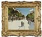 JAMES KAY R.S.A., R.S.W. (SCOTTISH 1858-1942) BOULEVARD DES ITALIENS, PARIS 51cm x 61cm (20in x 24in)
