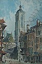 PAUL BRADDON LA GROSSE HORLOGE, ROUEN 76cm x 51cm, Paul Braddon, Click for value