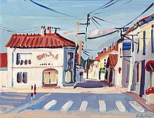 § JAMES FULLARTON (SCOTTISH B.1946) JARD-SUR-MER 21cm x 27cm (8.25in x 10.5in) and two further works by the same hand (3)