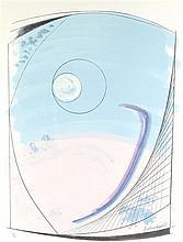 § BARBARA HEPWORTH R.A. (BRITISH 1903-1975) WINTER SOLSTICE 75cm x 56cm (29.5in x 22in)