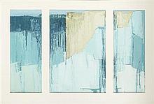 § ALEXANDRA KNUBLEY (SCOTTISH B.1969) UNTITLED 73cm x 118cm (28.5in x 46.5in)