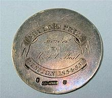 Aberdeen - a Scottish provincial medical interest medallion 4.5cm diameter, 12g