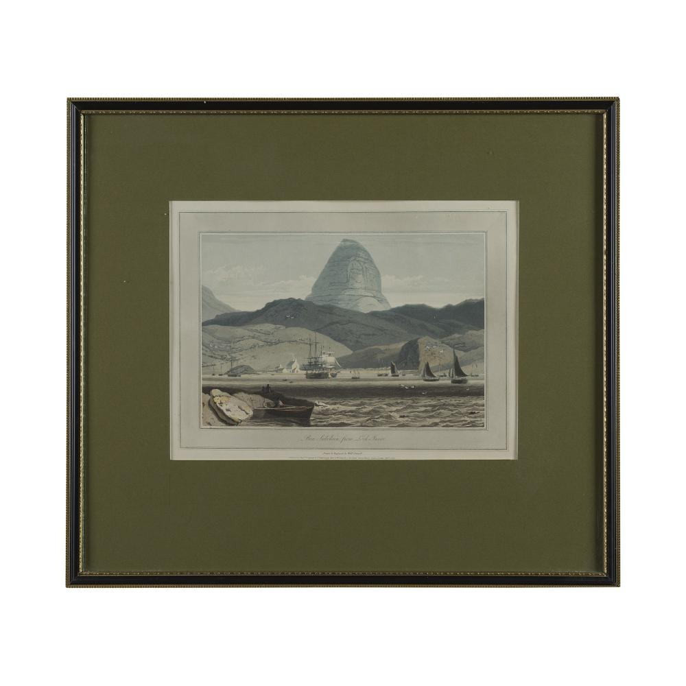 DANIELL, WILLIAM A COLLECTION OF 7 FRAMED PRINTS OF SCOTLAND, 1820