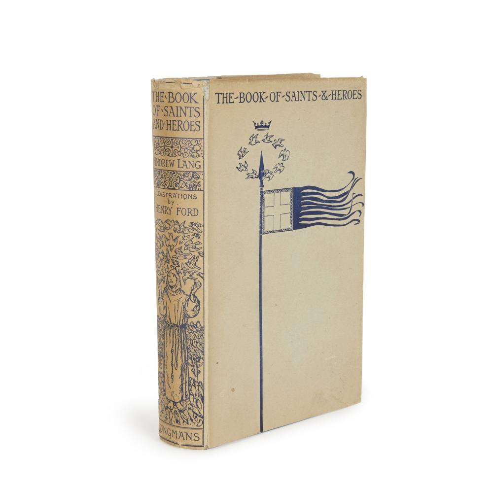 LANG, MRS - ANDREW LANG, EDITOR THE BOOK OF SAINTS AND HEROES