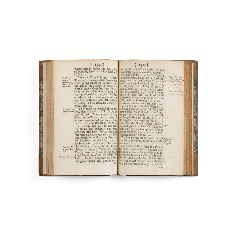 1715 RISING - [LOCKHART, GEORGE] - ANNOTATED MEMOIRS CONCERNING THE AFFAIRS OF SCOTLAND