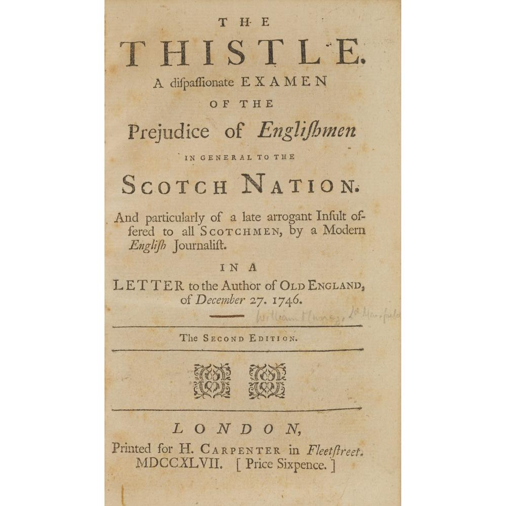 JACOBITE PAMPHLETS - 1747 11 ITEMS, COMPRISING: