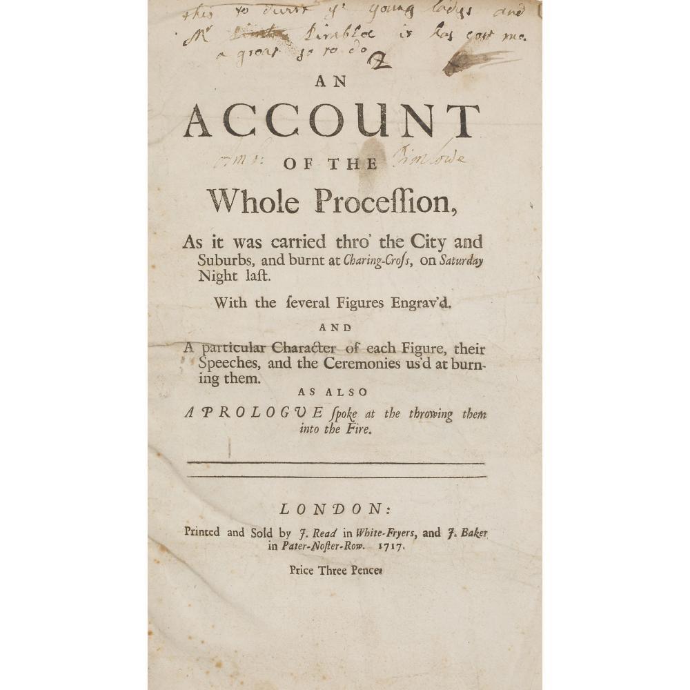 Rare 1717 Folio 1715 Rising