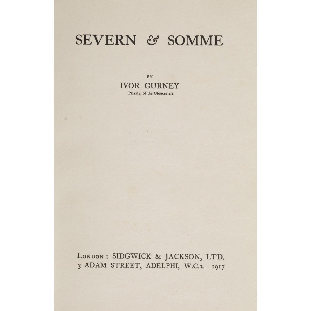 Gurney, Ivor Severn & Somme
