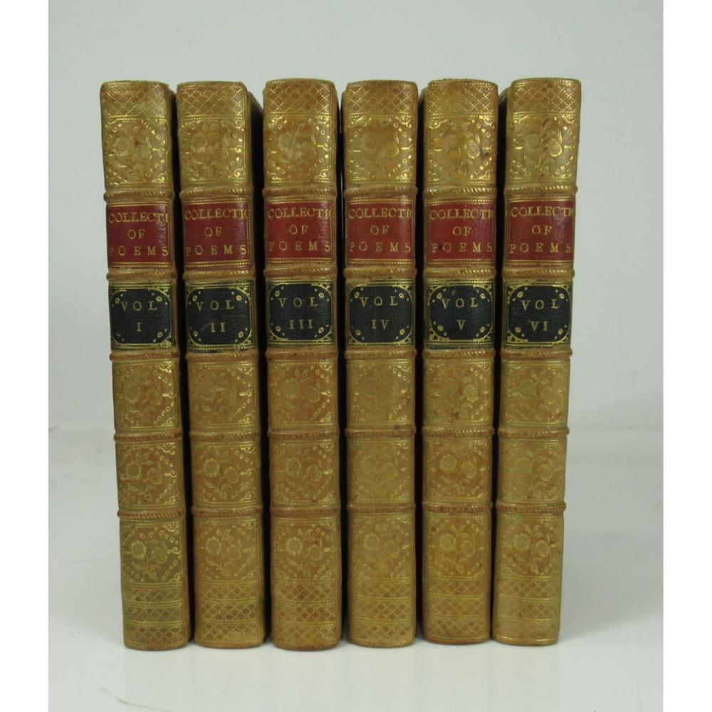 [Dodsley, Robert, editor] A Collection of Poems in Six Volumes by Several Hands
