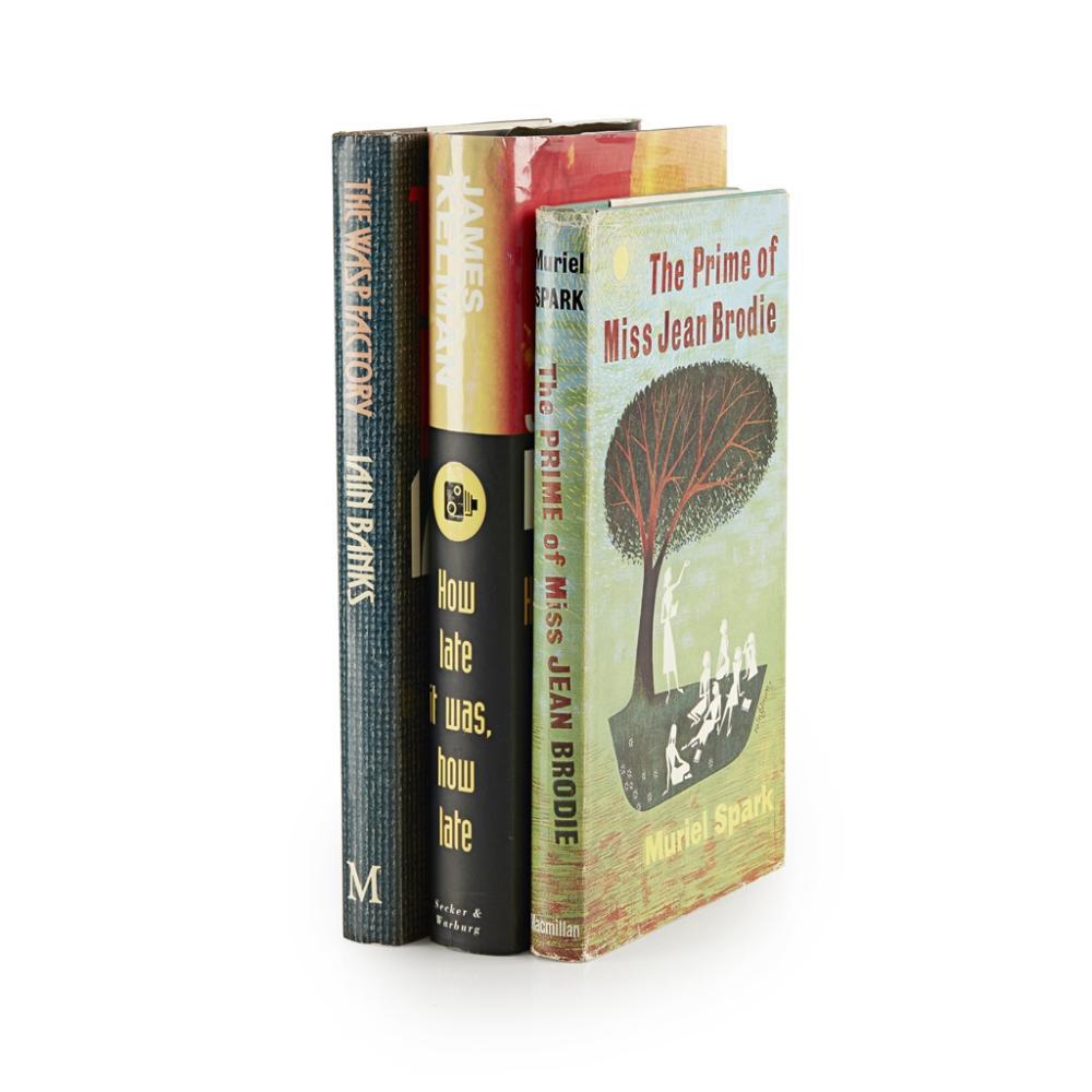 MODERN FIRST EDITIONS, 4 BOOKS COMPRISING SPARK, MURIEL