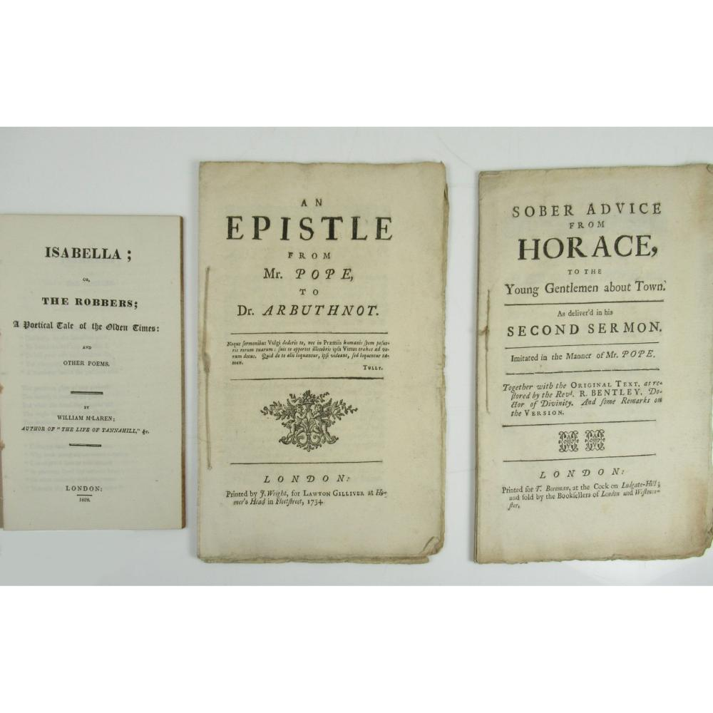Scottish Printing 3 works, including 2 examples of Scottish Piracy Printing