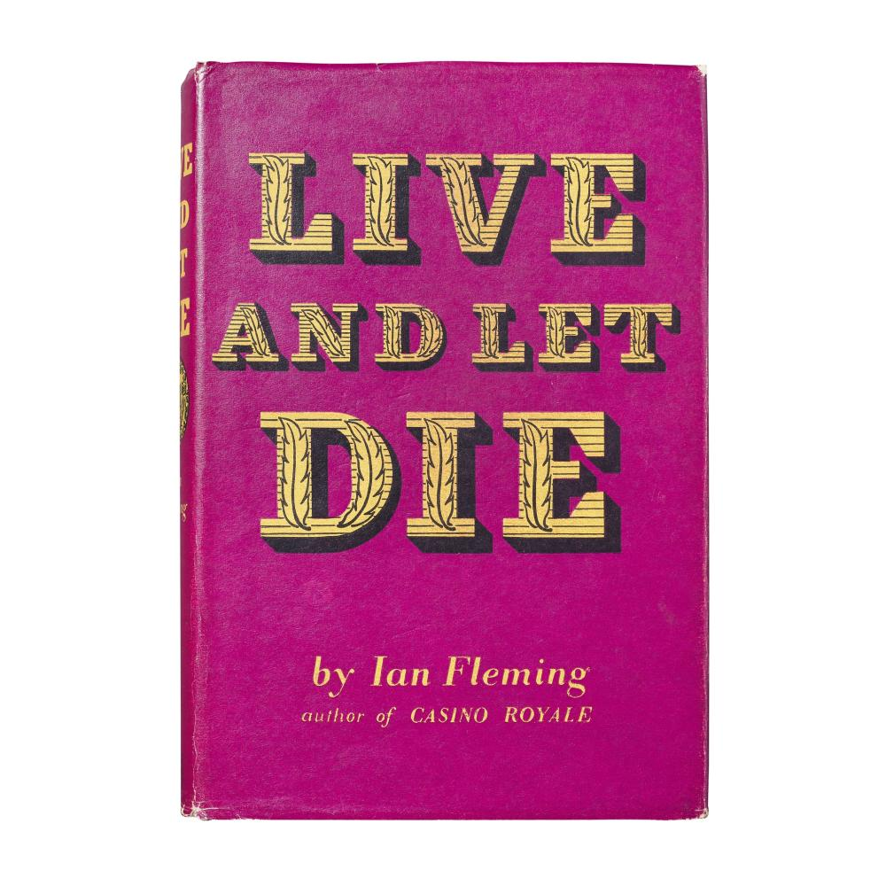 FLEMING, IAN LIVE AND LET DIE