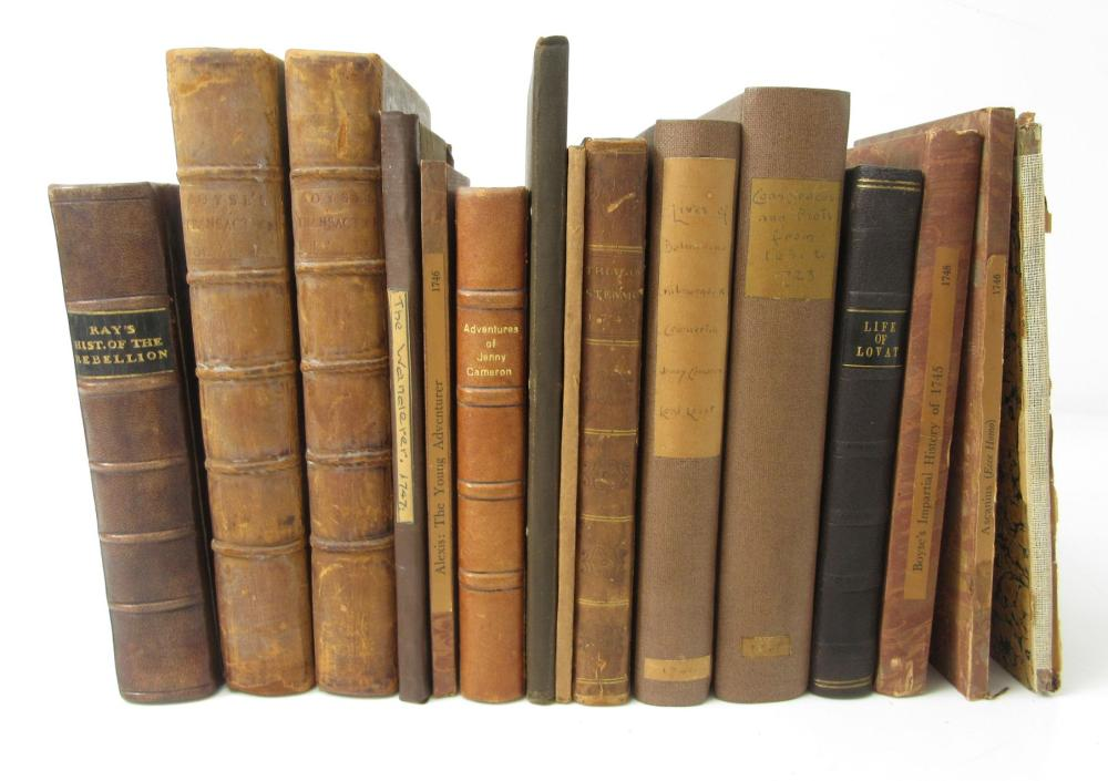 JACOBITE HISTORY, 1745-48 A COLLECTION OF 15 VOLUMES, COMPRISING: