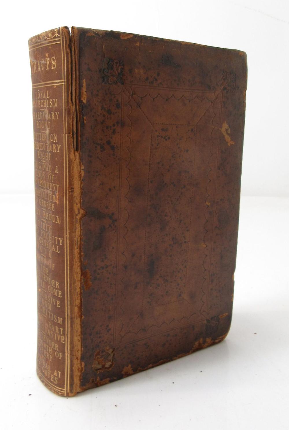 "STUART, JAMES FRANCIS EDWARD, (1688-1766) ""THE OLD PRETENDER"" 12 PAMPHLETS IN ONE VOLUME, COMPRISING:"