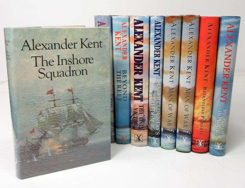 Kent, Alexander, 29 volumes & Douglas Reeman, 5 volumes comprising Kent, A.